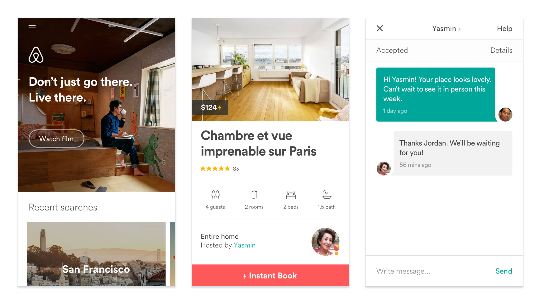 Material Design Awards 2016 - Airbnb